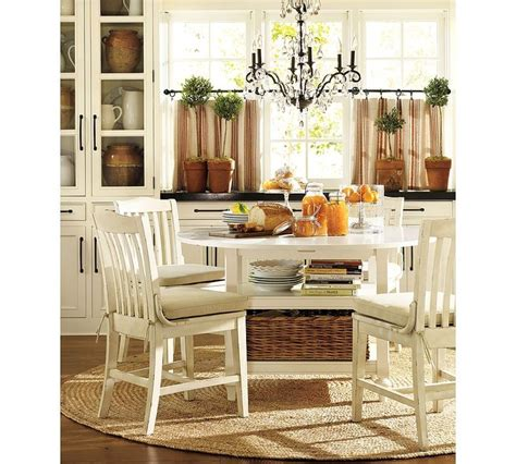 pottery barn kitchen curtains pottery barn table and chairs home sweet home
