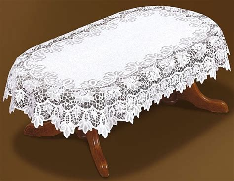 oval lace tablecloths uk tablecloth large oval lace white new 59 quot x 98 quot 150x250cm gift present ebay