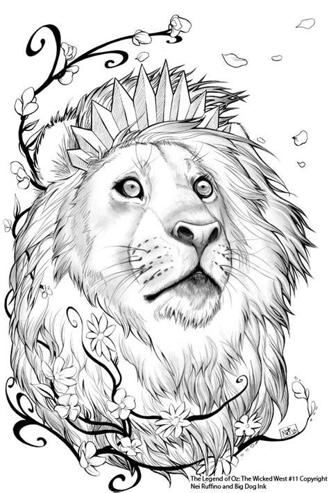 cowardly lion coloring pages oz 11 cowardly lion by toolkitten on deviantart