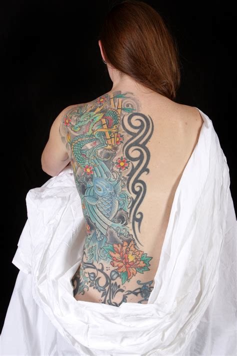women s full back tattoos back tattoos for gloss