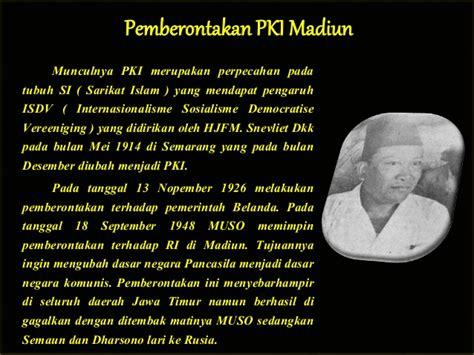 download film pemberontakan pki madiun sejarah ancaman disintegrasi bangsa