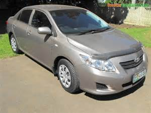 new cars in sa 2008 toyota corolla 1 6 professional used car for sale in