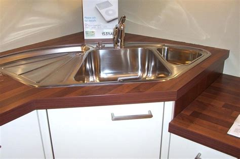 kitchen corner sinks uk corner kitchen sink with drainboard uk sink ideas