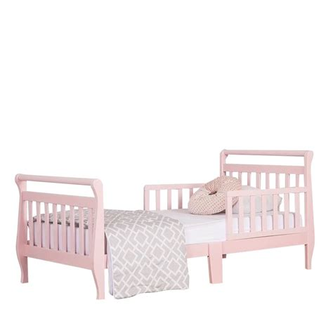 On Me Classic Design Toddler Bed by On Me Classic Design Toddler Bed In Blush Pink 624 P
