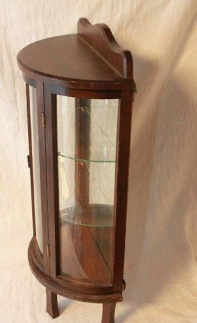 small curio cabinet with glass doors small glass curio cabinet display foter