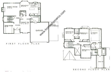austin floor plans austin model in the villages at meadowlakes subdivision in aurora illinois homes by marco