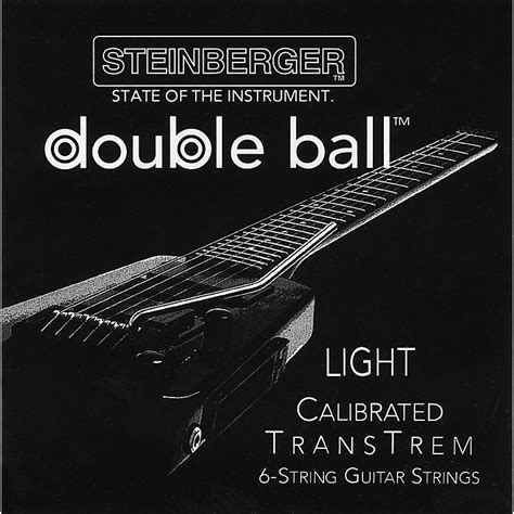light electric guitar strings steinberger transtrem light calibrated 6 string electric guitar strings musician s friend