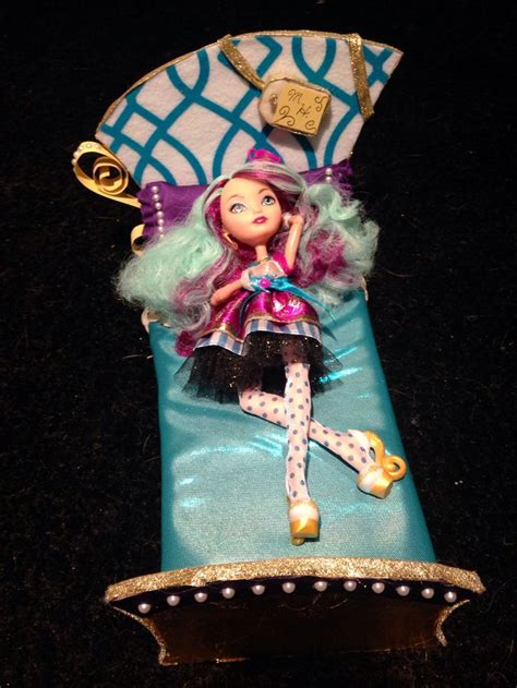 ever after high bedding diy madeline hatter ever after high doll bed kiera