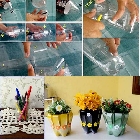 Diy Plastic Bottle Vase diy plastic bottles flower vase smiuchin
