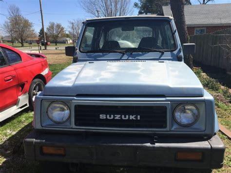 Suzuki Samurai Stock 1988 Suzuki Samurai Stock