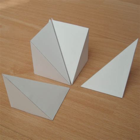 Triangular Origami - origami triangle pyramid www pixshark images