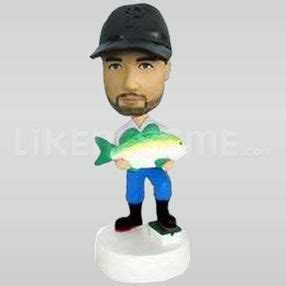 bobblehead fred fred the fisherman bobblehead buy fred the fisherman