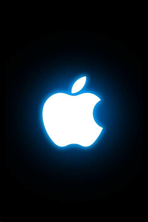 iPhone桌布-發亮的蘋果!這感覺跟滿月的月亮與狼 人之間的關係有著異曲同工之妙的效果~ .txt