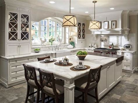 kitchens with an island building the kitchen island with seating to your own house