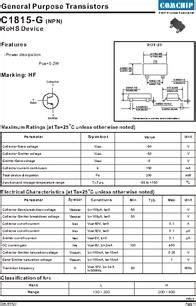 datasheet general purpose transistors