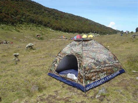 Kaos Tenda Dome jual vntg tenda dome kapasitas 4 5 orang warna loreng