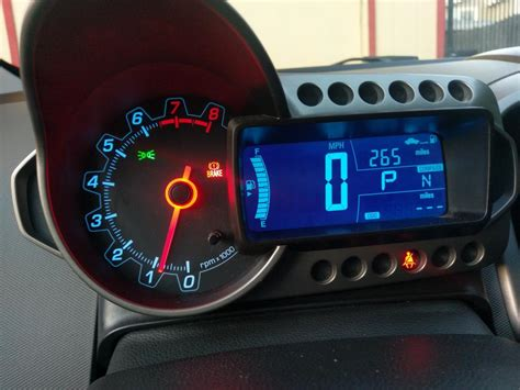 odometer light not working 2013 chevrolet sonic odometer display stopped working 3