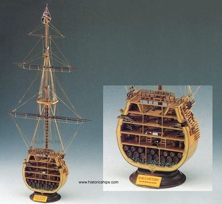boat supplies nelson cross section wooden model ship of admiral nelson s hms