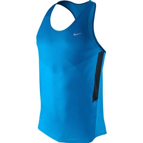 Singlet Nike wiggle nike distance singlet fa12 running singlets