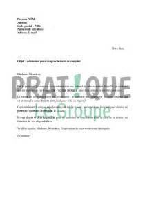 Lettre Pour Demande De Visa Conjoint Lettre De D 233 Mission Pour Se Rapprocher De Conjoint Pratique Fr