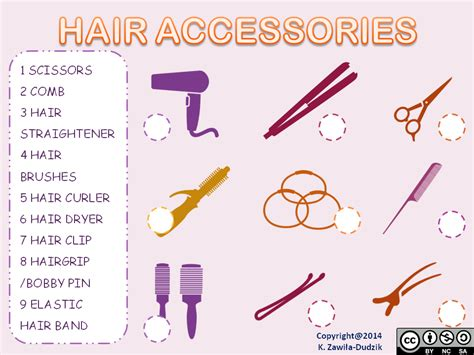 hair salon vocabulary hair hairstyles hair accessories your english fairy