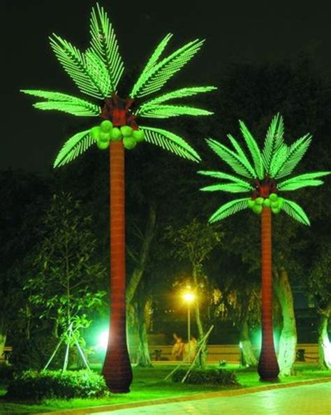 Outdoor Palm Tree Lights China Yaye Ce Rohs Approval Waterproof Ip65 Outdoor Coconut Tree Light Led Coconut Tree Light