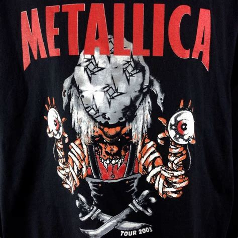 Tshirt St Anger Black Metallica 38 best images about t shirts on korn st
