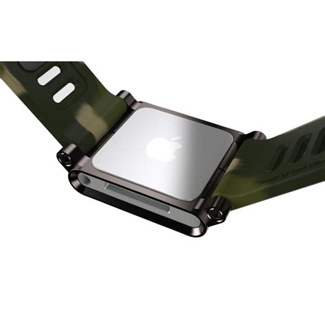 lunatik band for ipod nano 6th army green