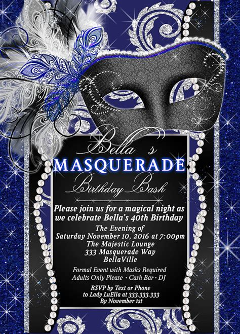 sweet sixteen theme on pinterest 41 pins masquerade party invitation mardi gras party party by