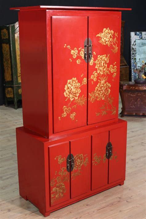 credenza cinese annuncio credenza cinese in legno laccato a cineseria