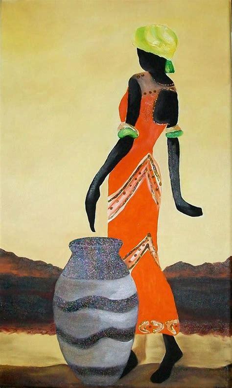 imagenes cuadros negras africanas negras pintura pinterest africanos negro y cuadro