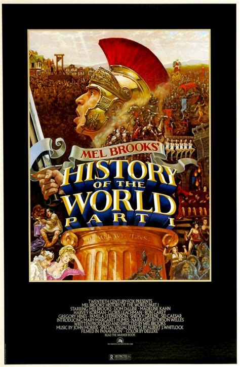 Interactive Theater History Of The World Part Two by History Of The World Part I Dvd Release Date