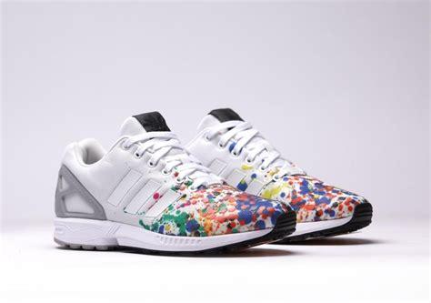 adidas zx flux color splash sneaker bar detroit