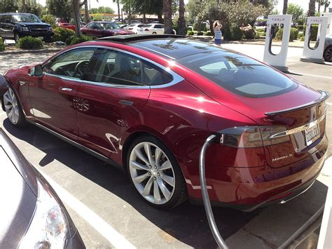 tesla model s supercharger zero emissions vehicle
