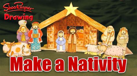 Home Decor Subscription Box by Make Your Own Christmas Nativity Scene Youtube