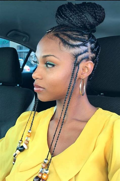 braid behind ear images image result for two ear braids loving hair pinterest