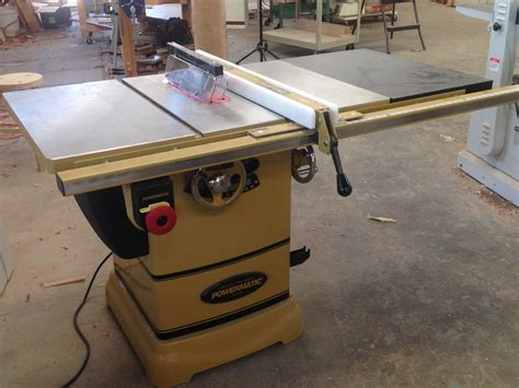 the powermatic pm 1000 table saw brings power to the