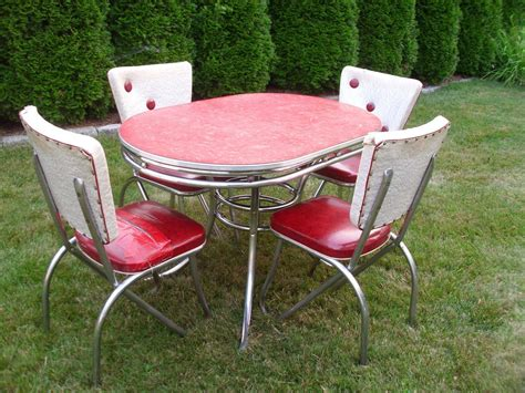 50 s kitchen table and chairs 50s kitchen table victoriaentrelassombras