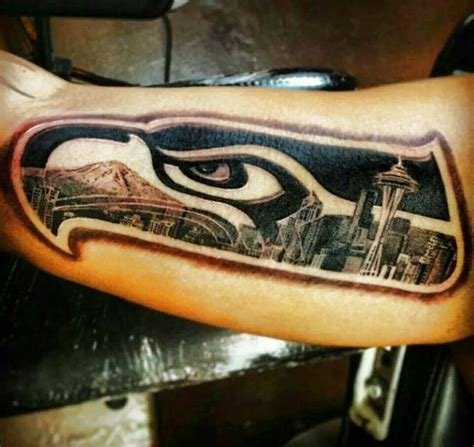 seattle tattoo designs 38 best images about seahawks tattoos on a