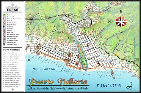 vallarta map of mexico vallarta map