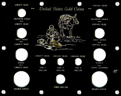 Capital Set capital plastic coin holders u s gold type coins jake s