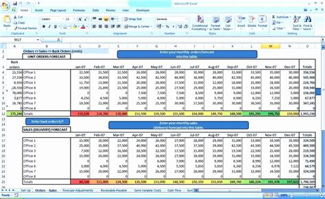 6 Sales Forecast Excel Template Exceltemplates Exceltemplates Forecast Excel Template