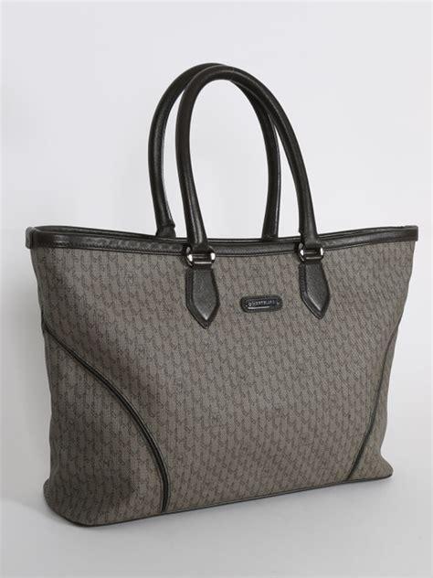 Handbag Kulit Asli Montblanc No Serti montblanc signature canvas brown leather tote luxury bags