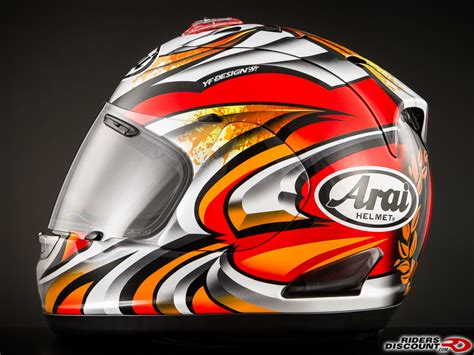 arai corsair v nakagami helmet riders discount