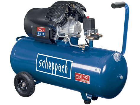 Kompresor Nd scheppach hc 100 dc olejov 253 kompresor 8 bar 412 l min 100 l 54 kg