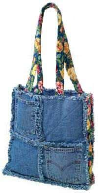 Denim Patchwork Bag Patterns Free - eski kottan 199 anta modelleri fabric shop craft stores