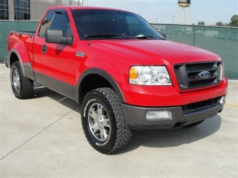 2004 ford f150 specs 2004 ford f150 fx4 regular cab 4x4 data info and specs
