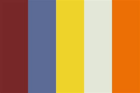 what color is happy happy retro color palette