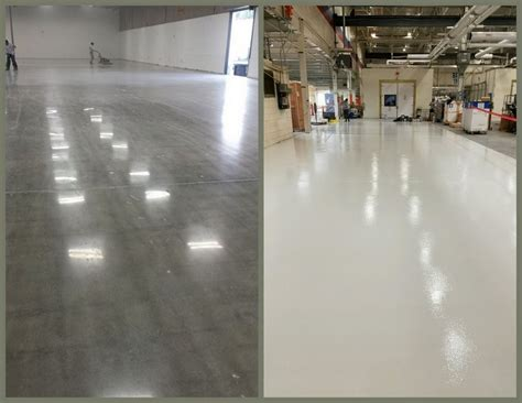 Concrete Floor Coating  Polished Concrete