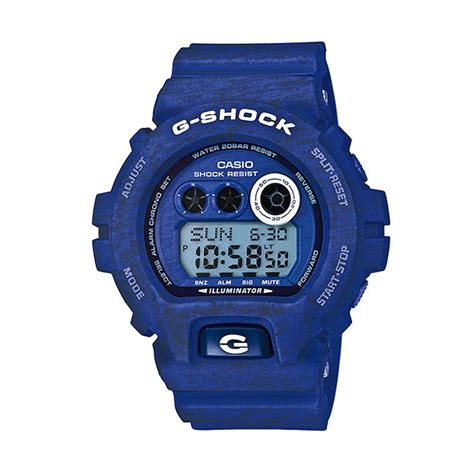 Jam Tangan Sport Pria G Shock Time Water Resist Kw 19 jual casio g shock gd x6900ht 2dr heathered blue jam